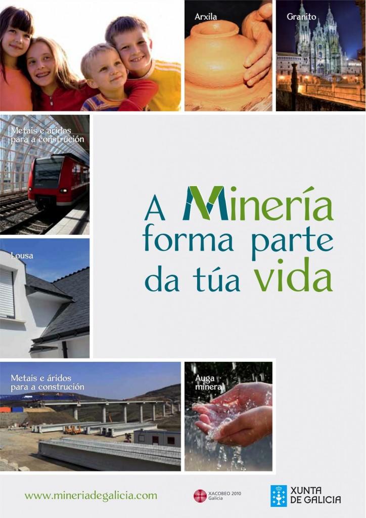 Anuncio Minería Xunta de Galicia