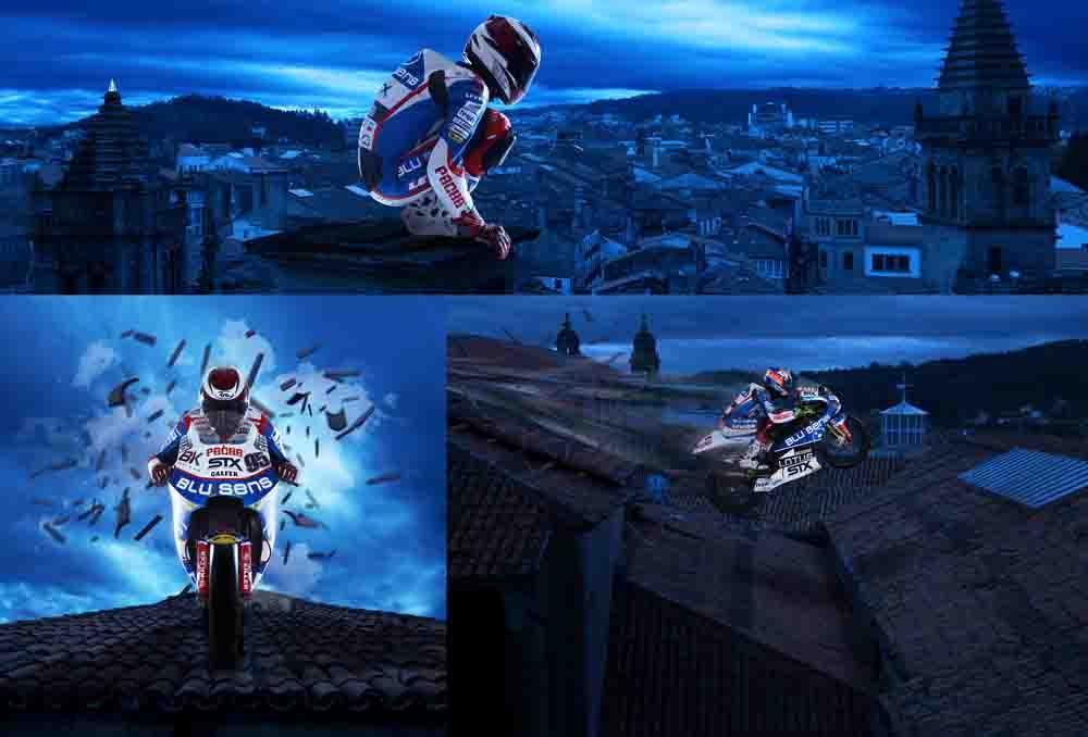Motociclismo Blusens-BQR publicidad