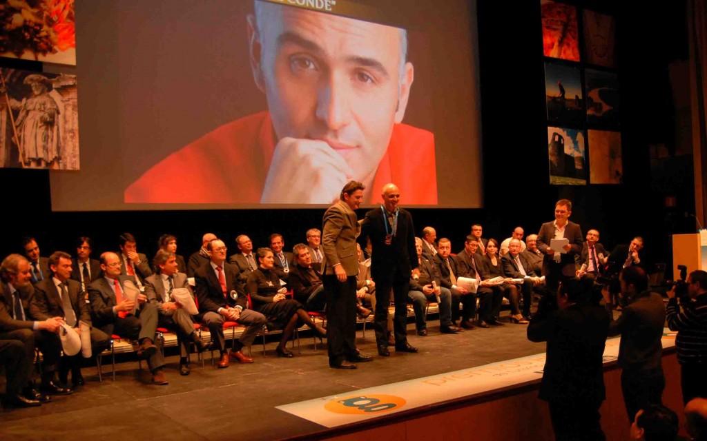 Miguel Conde Medalla Dagda Marzo2011