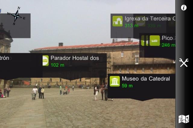 Realidad Aumentada Santiago de Compostela