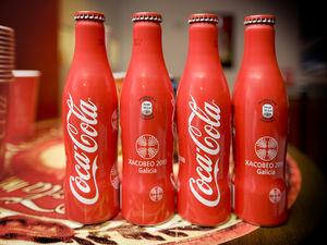 Botella Coca Cola Xacobeo
