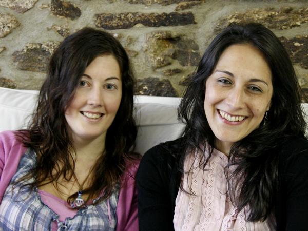 Ekinocio Raquel Boo e Irene García