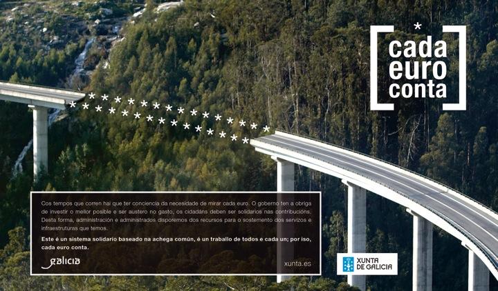 Cada euro conta Xunta de Galicia