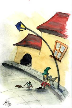 Ilustración Hugo Rodrígue Pobreartista