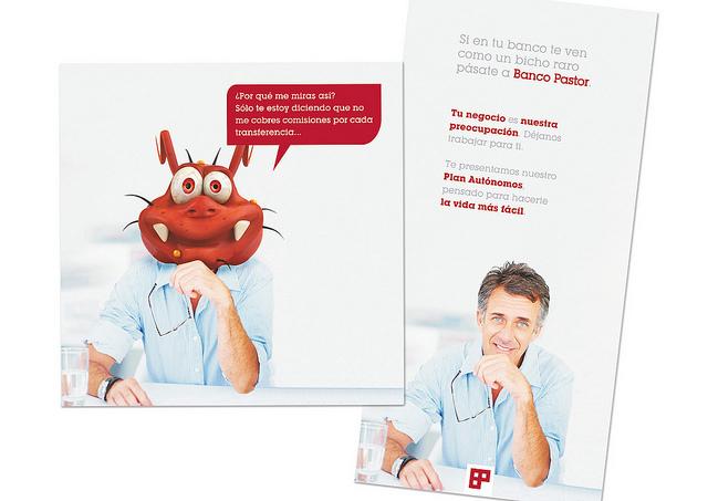 Campaña Banco Pastor quattro idcp