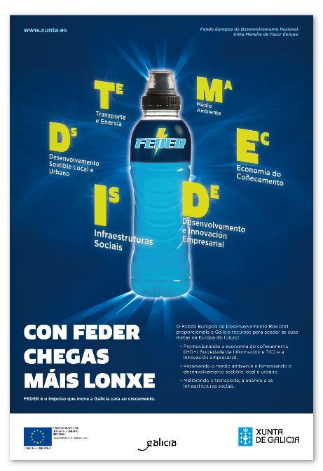 Fondos FEDER Xunta de Galicia 2012