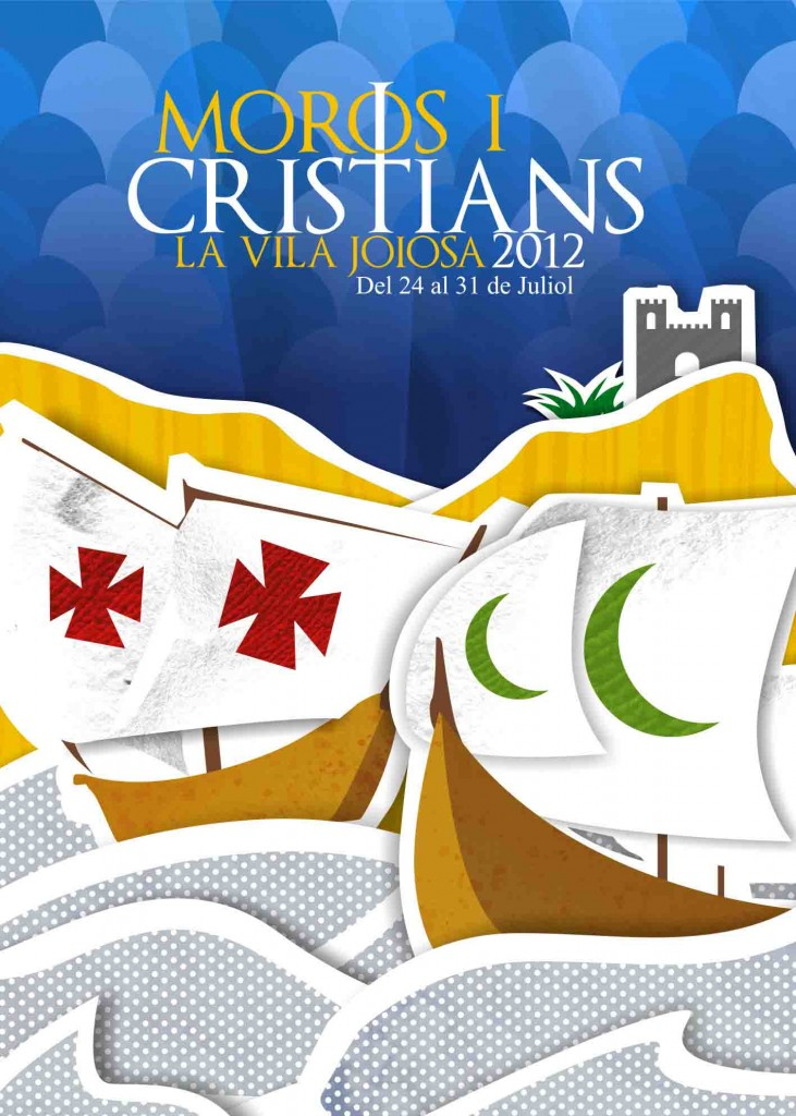 Moros y Cristianos Vila Joiosa 2012
