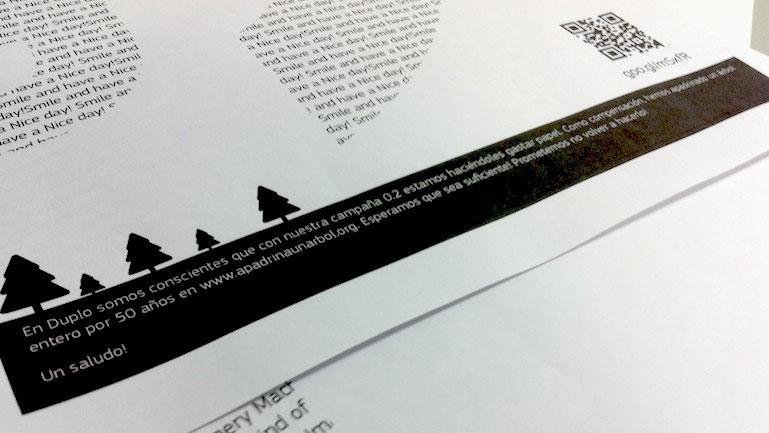 Campaña Fax Duplo Estudio
