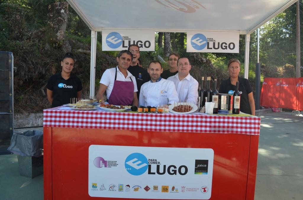 E para comer Lugo...
