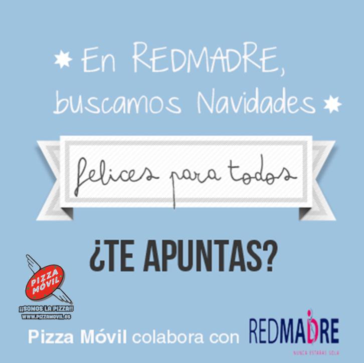 Pizza Móvil Campaña Solidaria