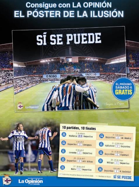 Poster Deportivo Coruña