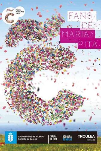 Cartel Fiestas María Pita