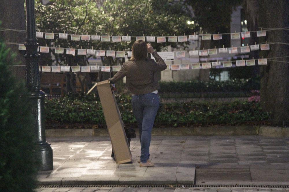 Acción publicitaria Vigo