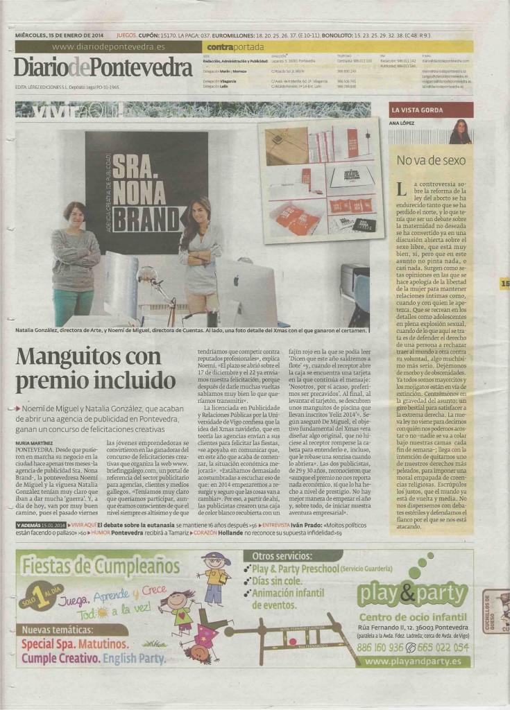 Diario de Pontevedra Briefing Galego