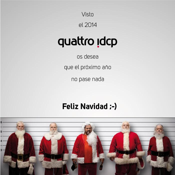 felicitacion quattro idcp