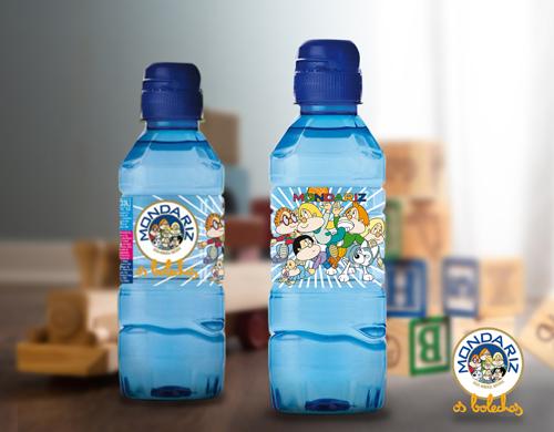 Agua mineral para niños
