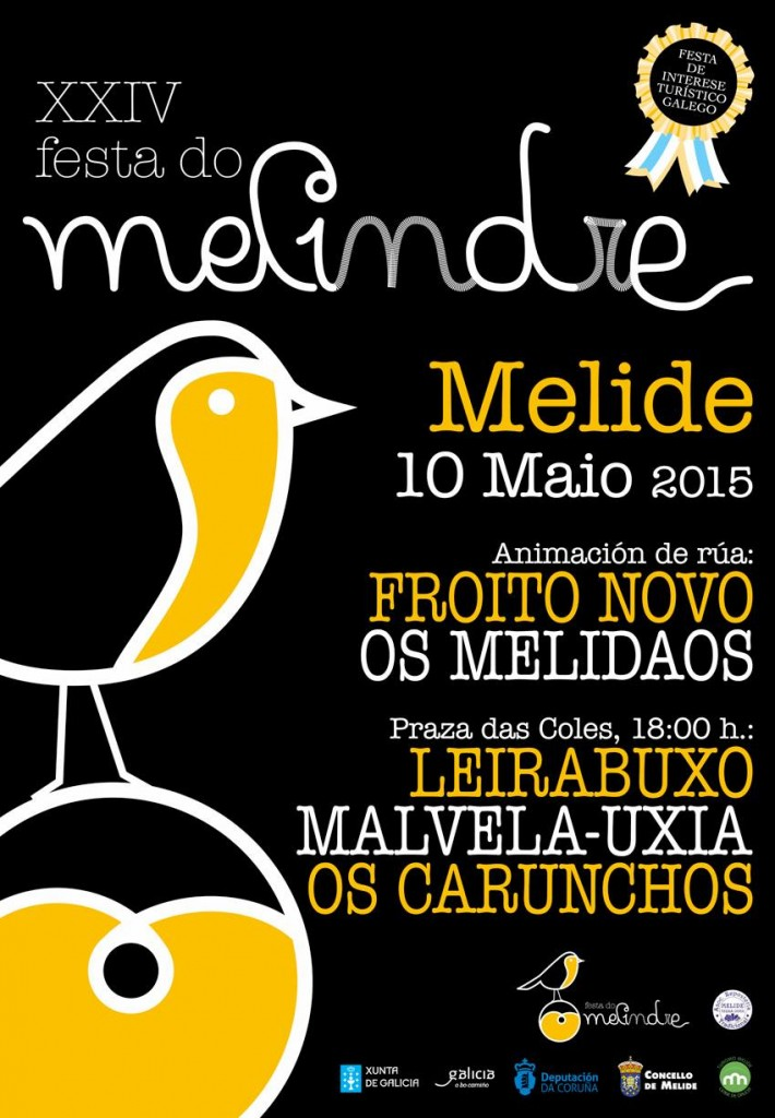 cartel musical festa do melindre 2015