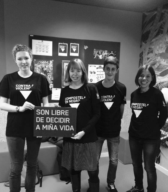 campaña Compostela en Negro