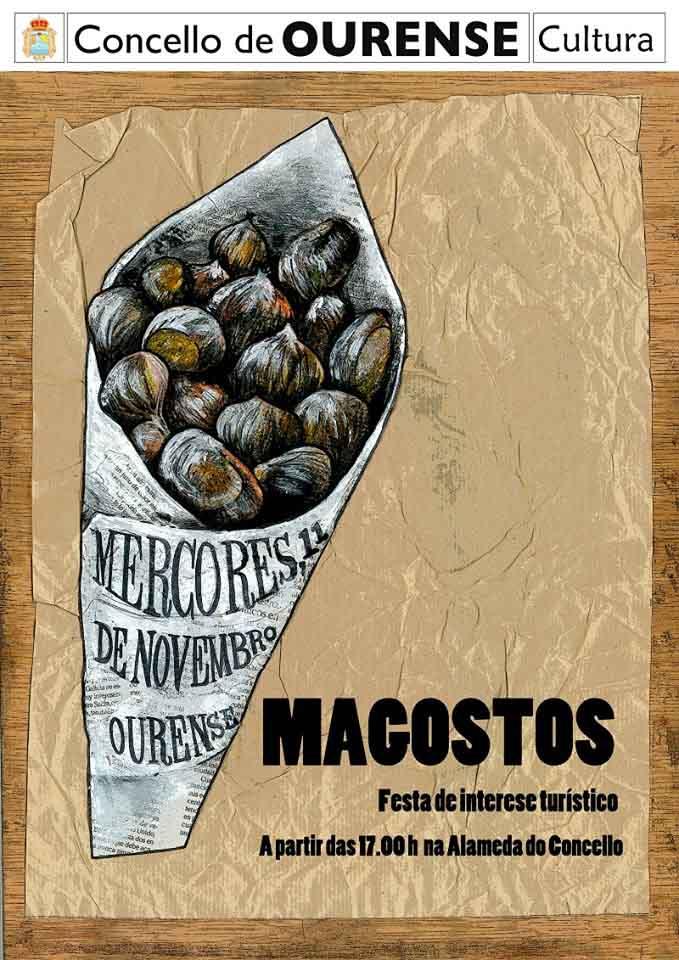 cartel magosto ourense