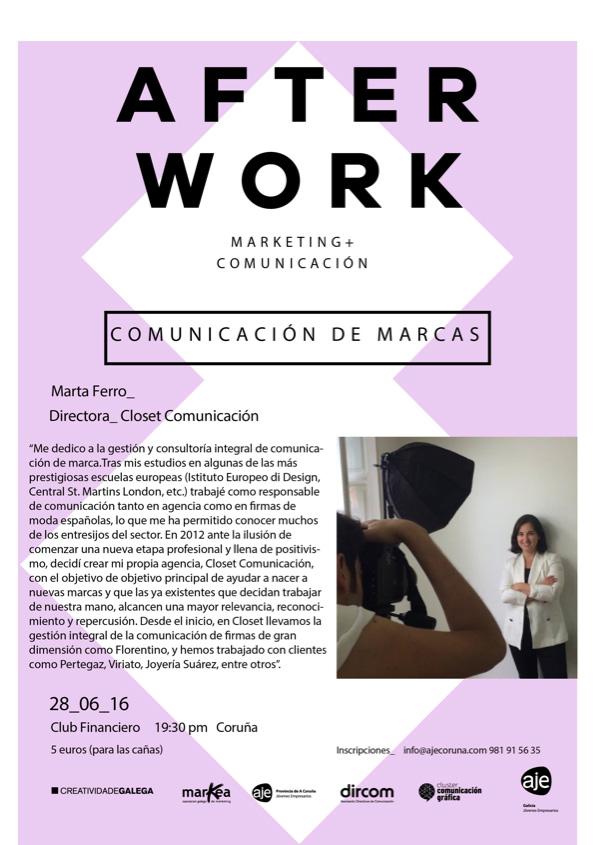 afterwork comunicacion marcas