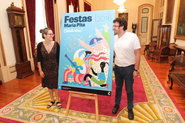Fiestas María Pita