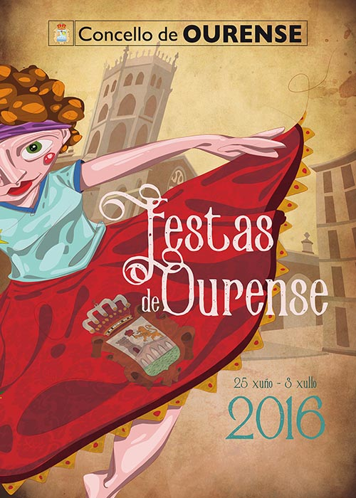 Cartel fiestas ourense