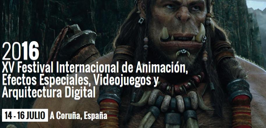XV Festival Internacional de Animación, Efectos Especiales, Videojuegos y Arquitectura Digital