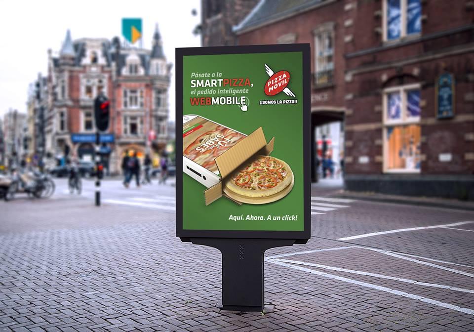 Campaña Pizza Móvil
