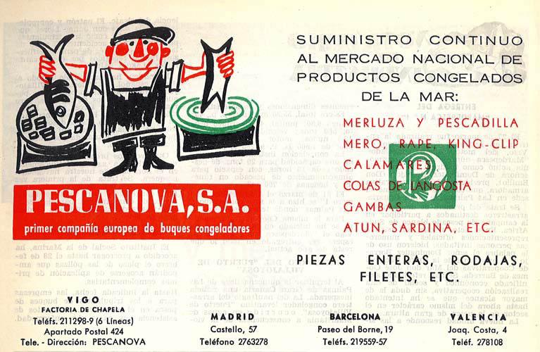 Pescanova 1964