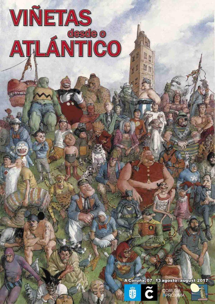 Cartel-oficial-Viñetas-desde-o-Atlantico-2017-A-Coruña
