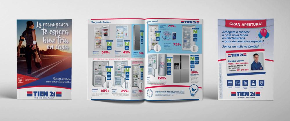 Nuevo diseño folletos Tien21 2017