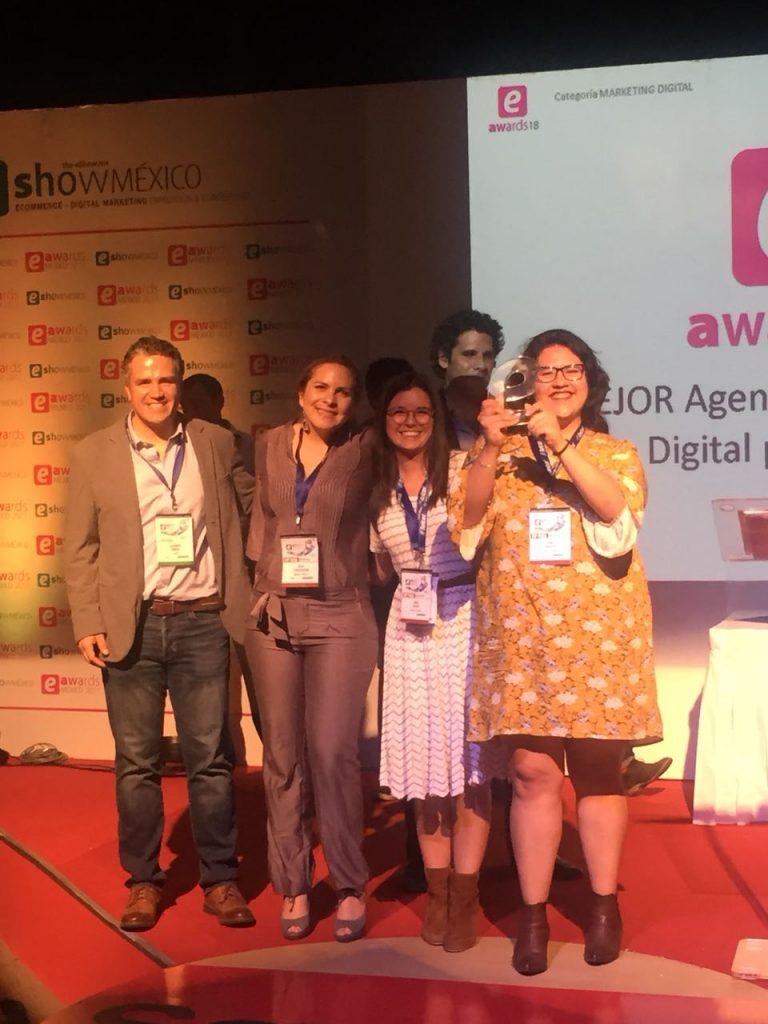 Redegal premiada Mejor Agencia Digital Social Media en los premios eAwards de México