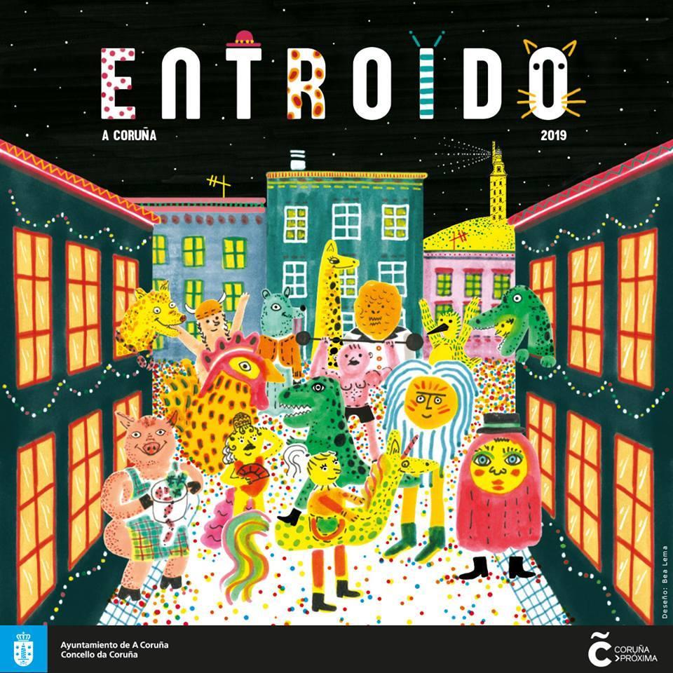 cartel_entroido2019_coruña