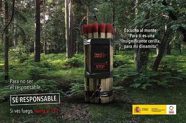 """Campaña Incendios Forestales """"Escucha al Monte"""""""