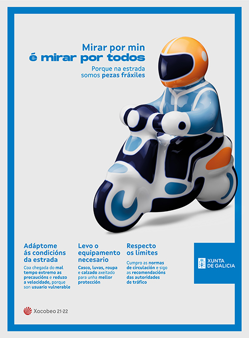 Campaña Seguridad Vial Xunta de Galicia